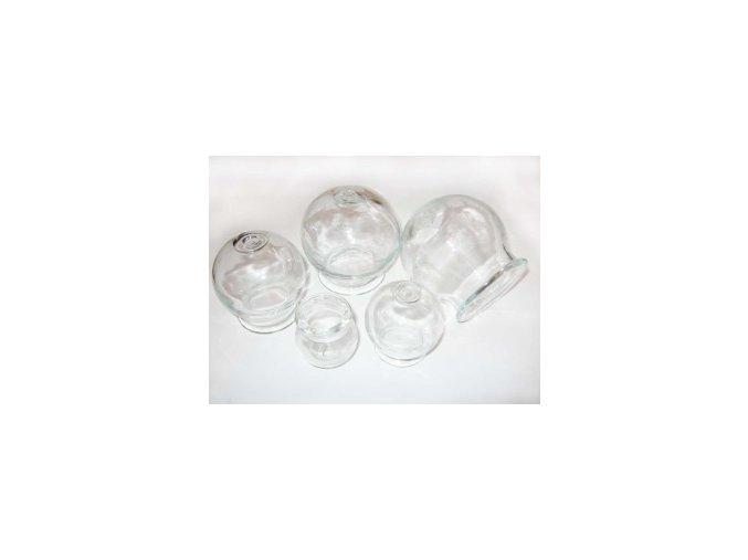 Baňka Čína Lux 55 mm - silné sklo - průměr otvoru 55 mm