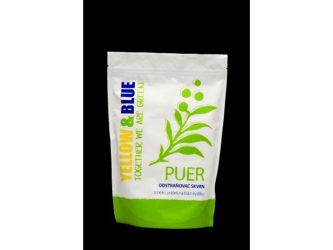 Puer – bělící prášek a odstraňovač skvrn na bázi kyslíku 1kg.
