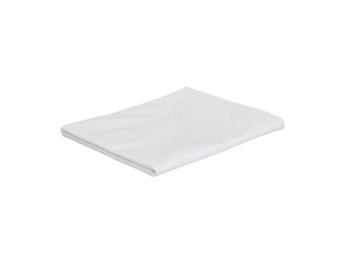 Masérské - saunové prostěradlo - bílé - 110 x 240 cm