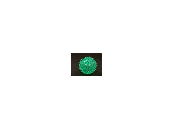 Ježek míč 7 cm zelený