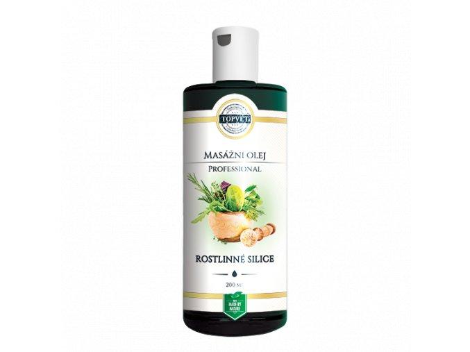 Rostlinné silice masážní olej 200 ml