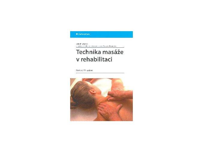 Technika masáže v rehabilitaci - kniha