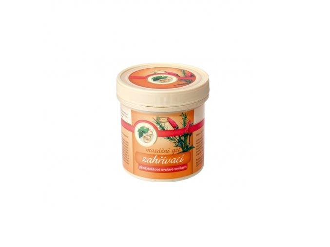 Zahřívací masážní gel 250 ml
