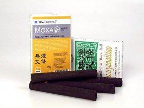 HAJ - Karbonizovaná nekouřící moxa 5 ks - vysoká kvalita - neprská