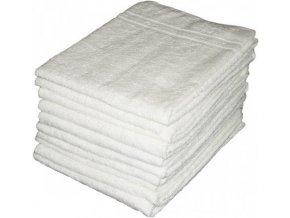 Osuška - froté ručník - bílý - 70x140 cm