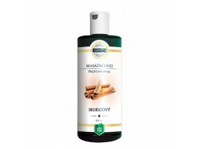 Skořice - masážní olej professional 200 ml