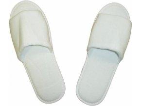 Pantofle - bačkůrky - froté (velikost 27cm)