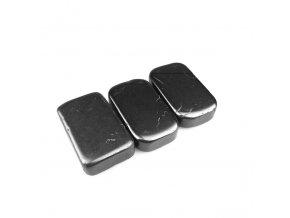 Masážní kámen Šungit - léčivý minerální kámen - 90x50x20 mm