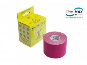 Kine-MAX Super-Pro Cotton kinesio růžový 5cmx5m