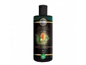Eucalypt a kosodřevina v mandlovém oleji 200ml.