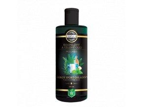 Energy sport chladivý v mandlovém oleji 200 ml