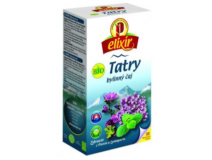 Elixír - TATRY - bylinný čaj BIO