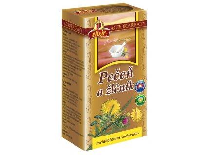 Pečeň a žlčník - bylinný čaj