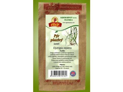 Pýr plazivý - koreň
