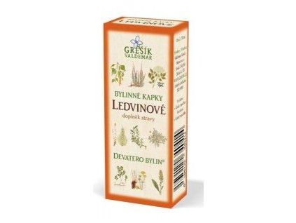 Ľadvinové - bylinné kvapky