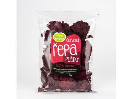 Chipsy s červenou repou