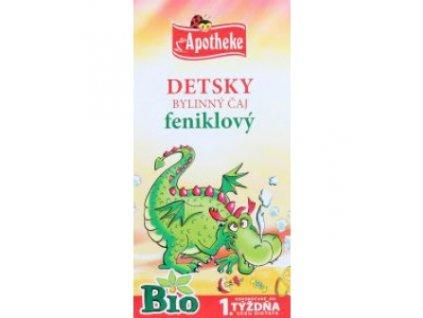 Detský bylinný čaj feniklový BIO