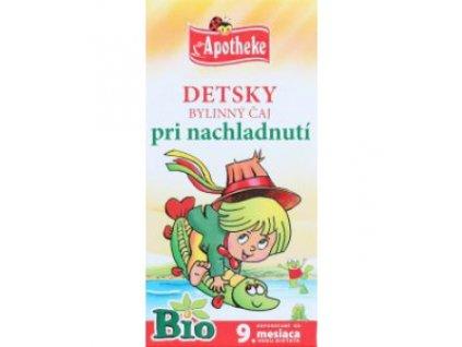 Detský bylinný čaj pri nachladnutí BIO