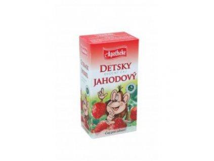 Detský ovocný čaj jahodový