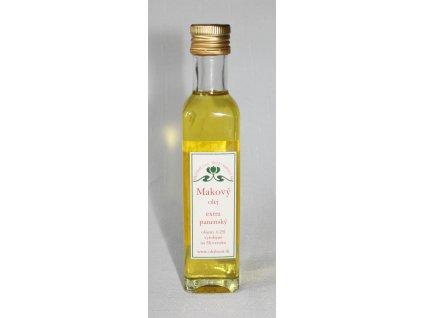 Makový olej - extra panenský - Hont (0,25l)
