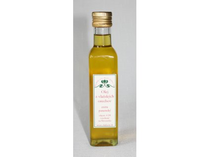 Olej z vlašských orechov - extra panenský - Hont (0,25l)