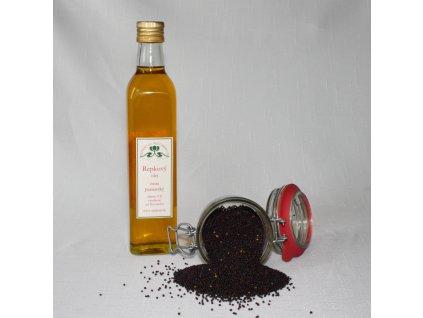 Repkový olej - extra panenský - Hont (0,5 l)