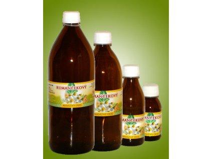 Rumančekový masážny olej (0,2 l)
