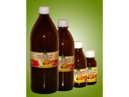Ľubovníkový - svätojánsky masážny olej (0,2 l)