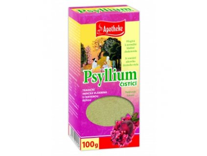 Psyllium - čistiace s červenou repou