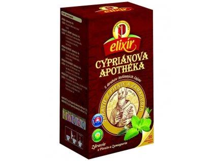 Elixír - Cypriánova apothéka, 5 druhov čaju