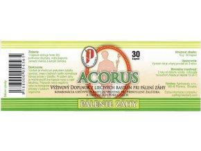 ACORUS - pálenie záhy