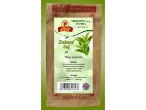 Zelený čaj - list