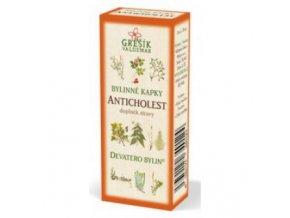ANTICHOLEST - bylinné kvapky