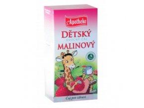 Detský ovocný čaj malinový