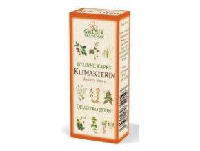 Klimakterin - bylinné kvapky
