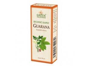Guarana - bylinné kvapky