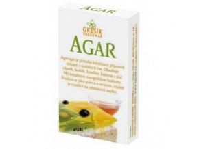 AGAR - želírujúca látka