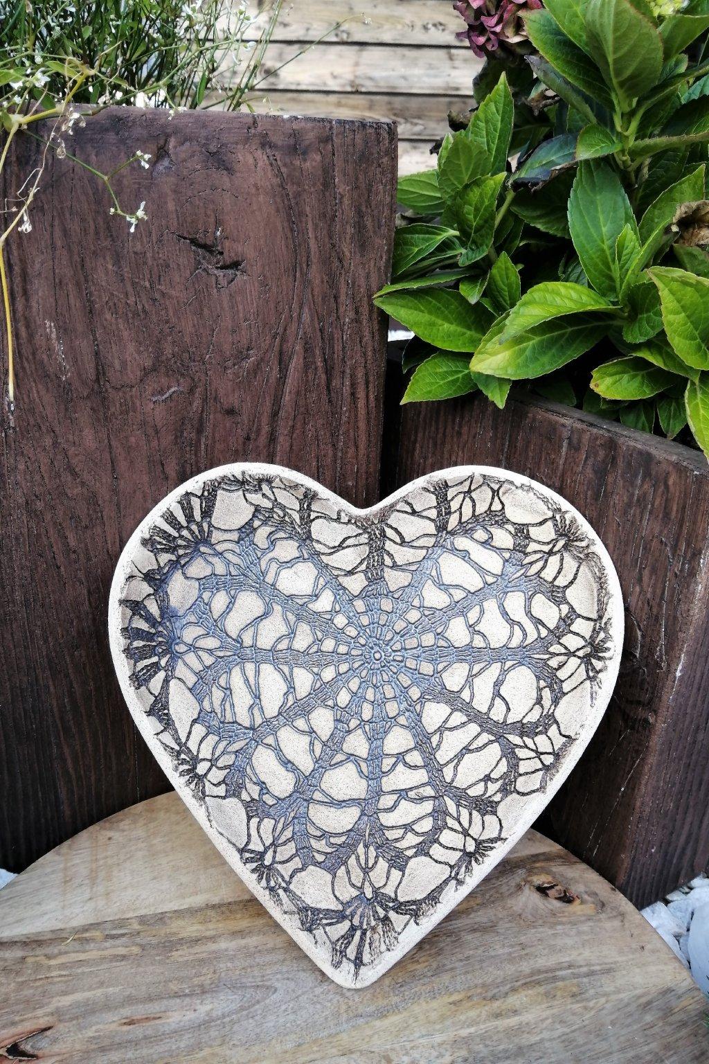 Misky ve tvaru srdce