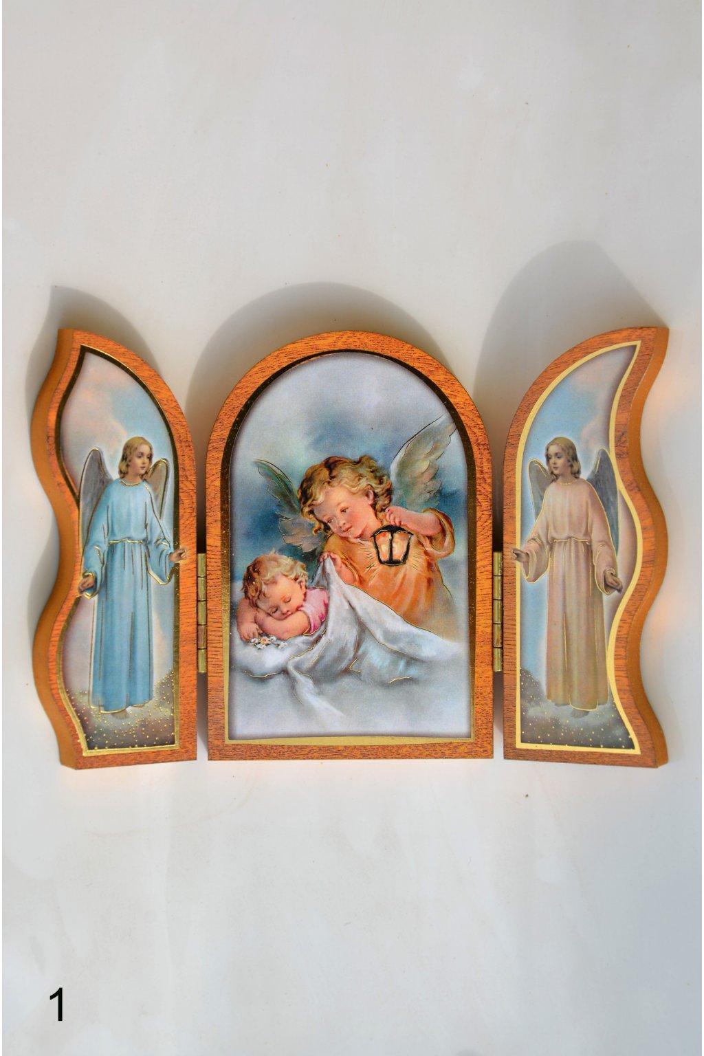 Rozkládací obrázek - oltářek