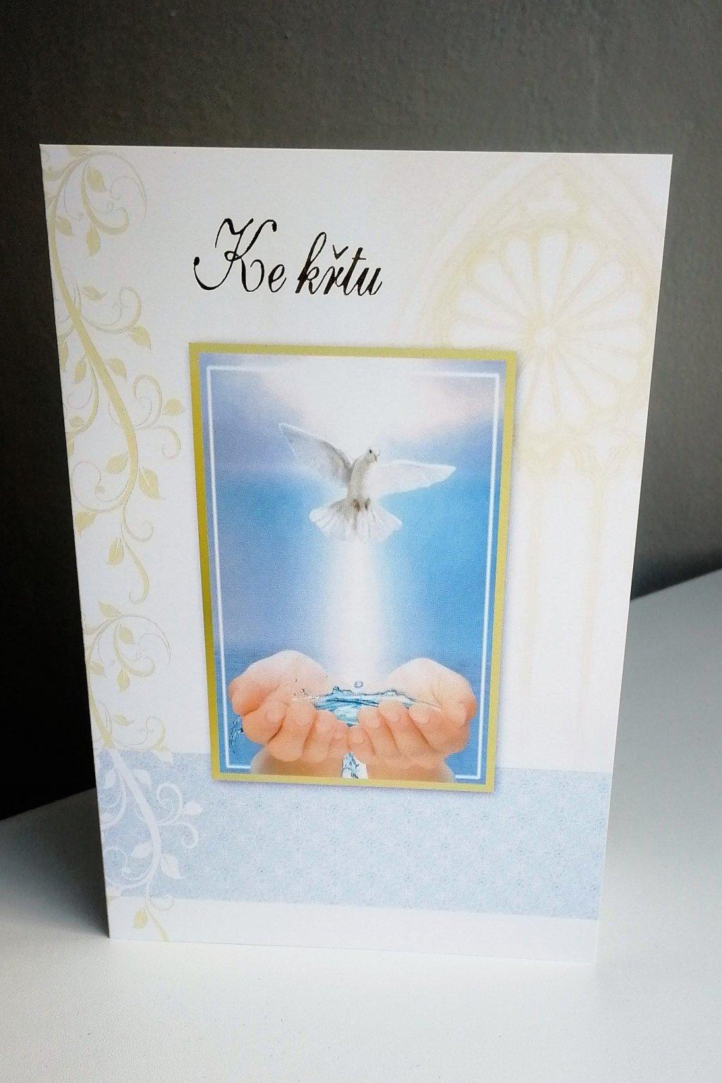 Přání ke svatému křtu