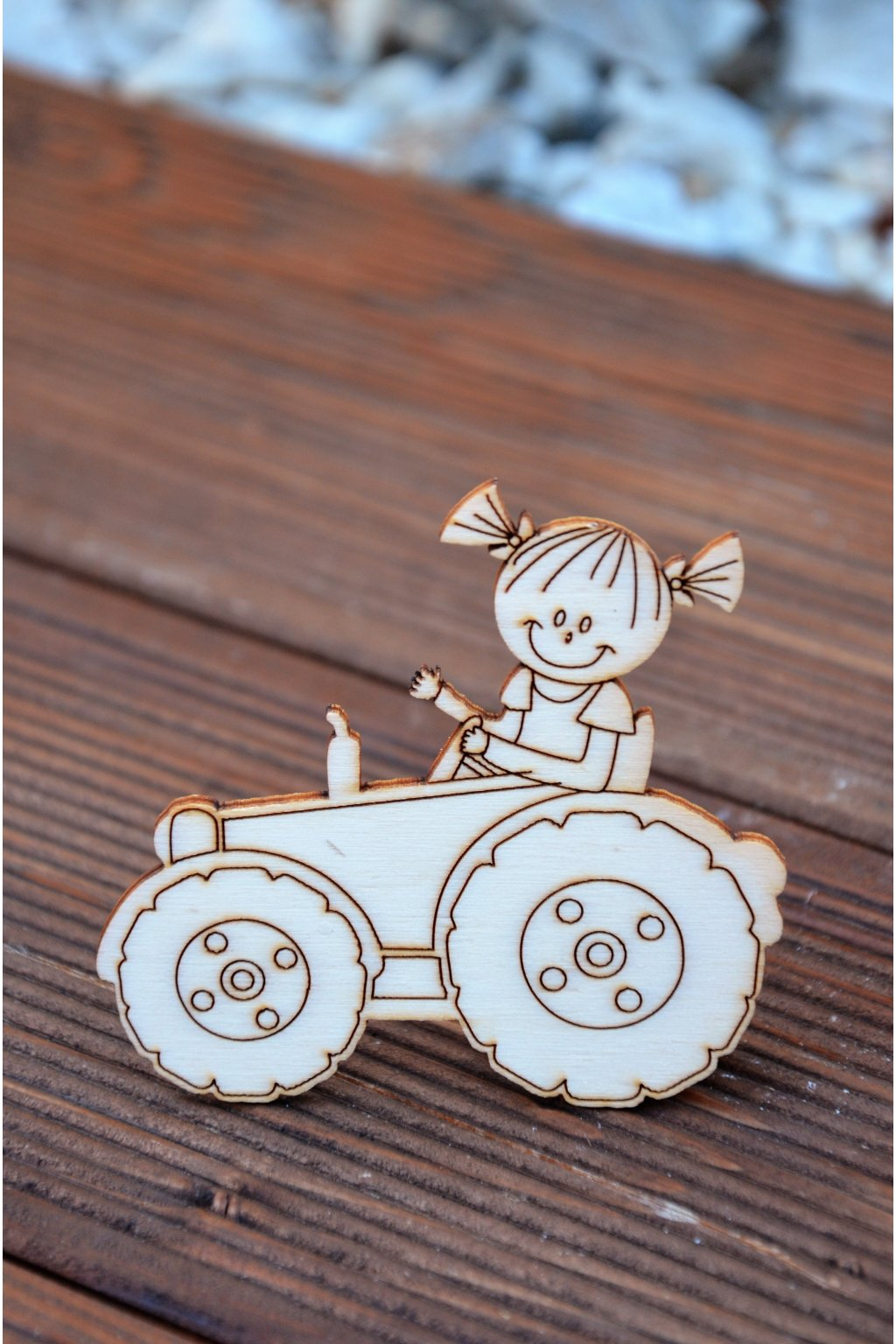 Traktor - holka