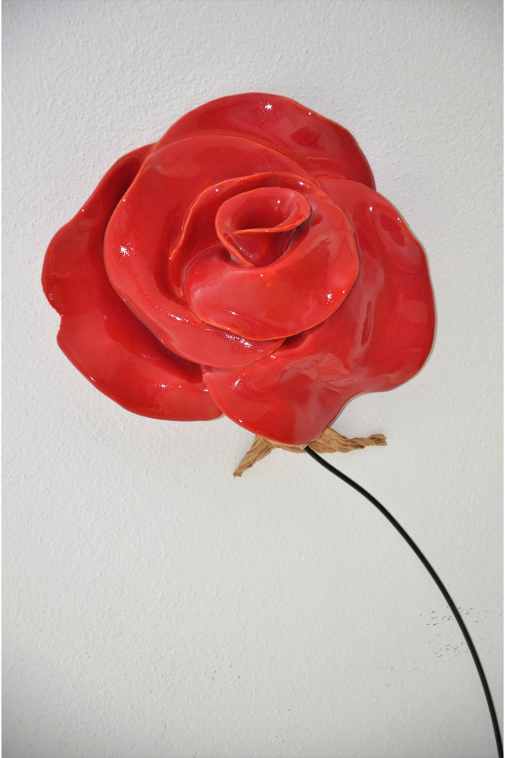 3D květ na zeď