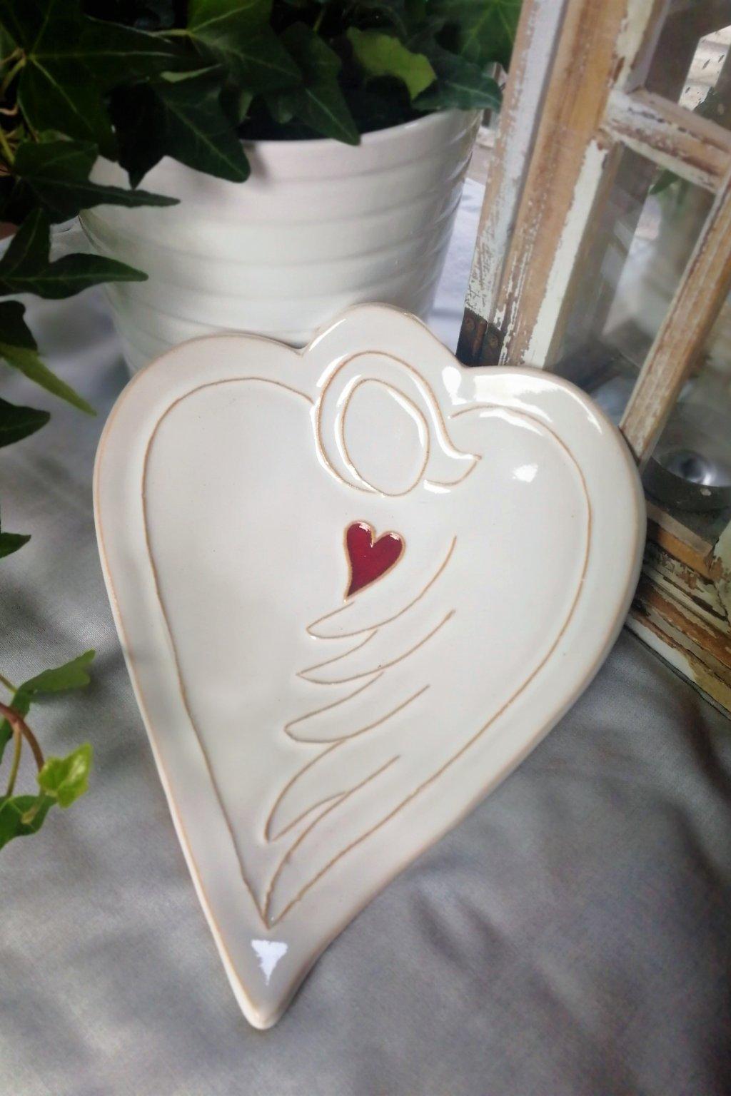Miska - andělské srdce