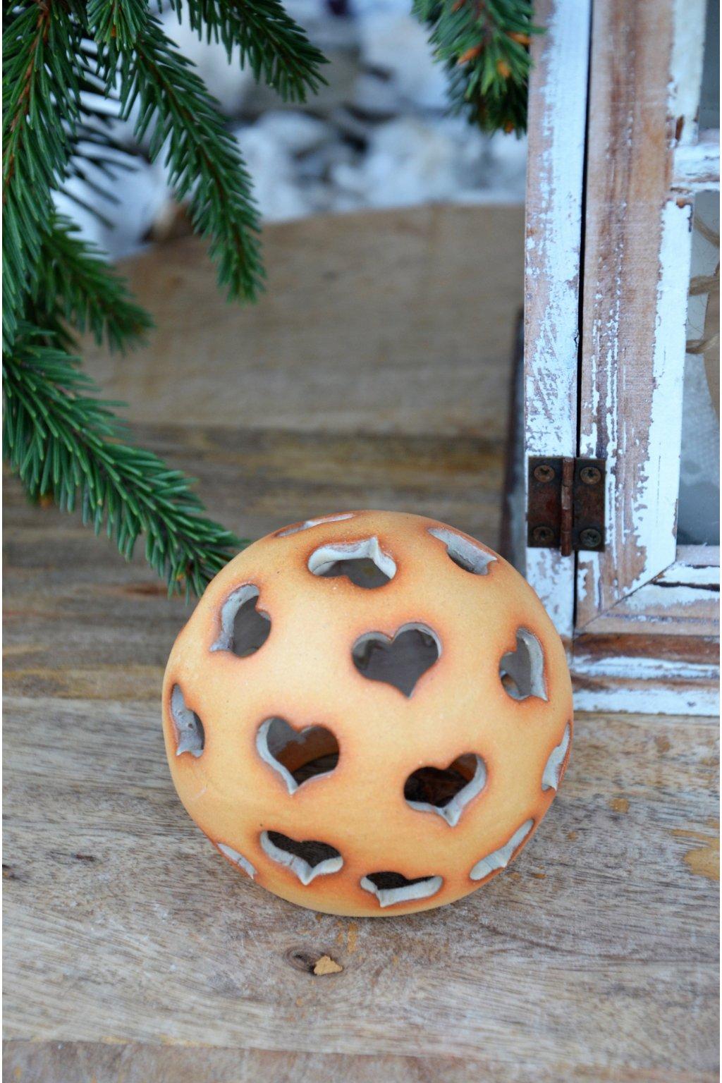 keramické koule 7 cm