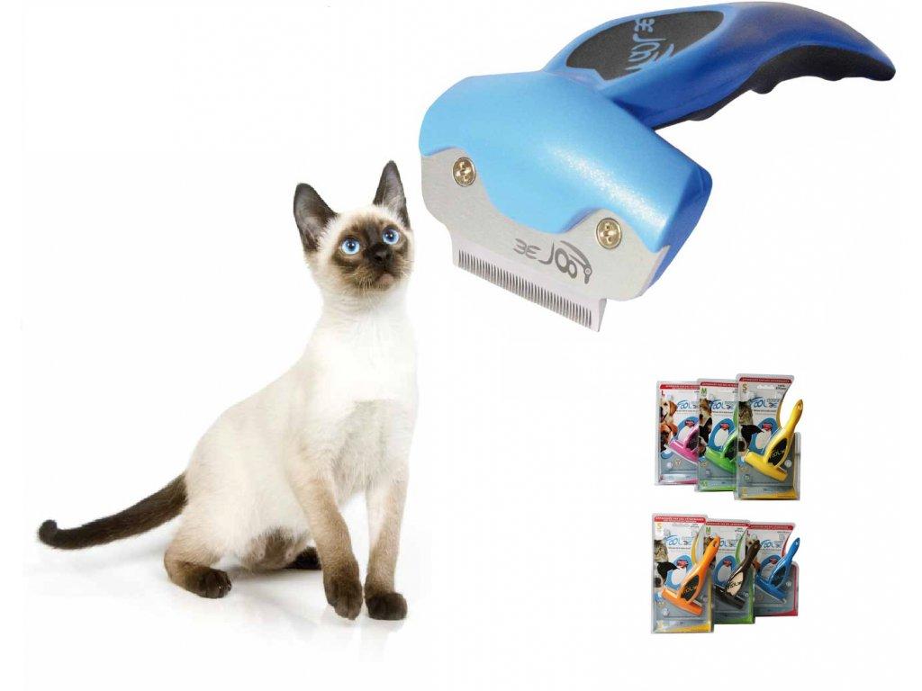 Na vyčesávání siamské kočku je nejlepší hřeben foolee