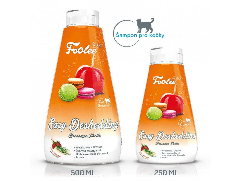 Šampon pro kočky pro jednoduché rozčesávání s arnikou a cypřišovým olejem