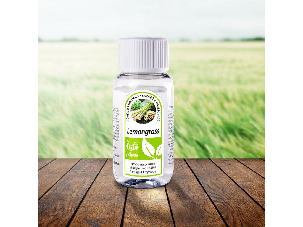 Lemongrass citronová tráva vůně do vodních vysavačů, parních čističů, osvěžovačů hyla,rainbow,vivenso