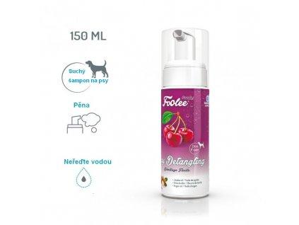 Šampon pro psy Foolee Beauty Easy Detangling s jojobovým olejem pro snadné ročesávání suchá pěna