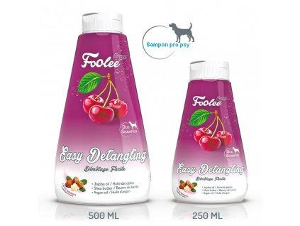 Šampon pro psy Foolee Beauty Easy Detangling s jojobovým olejem pro snadné rozčesávání