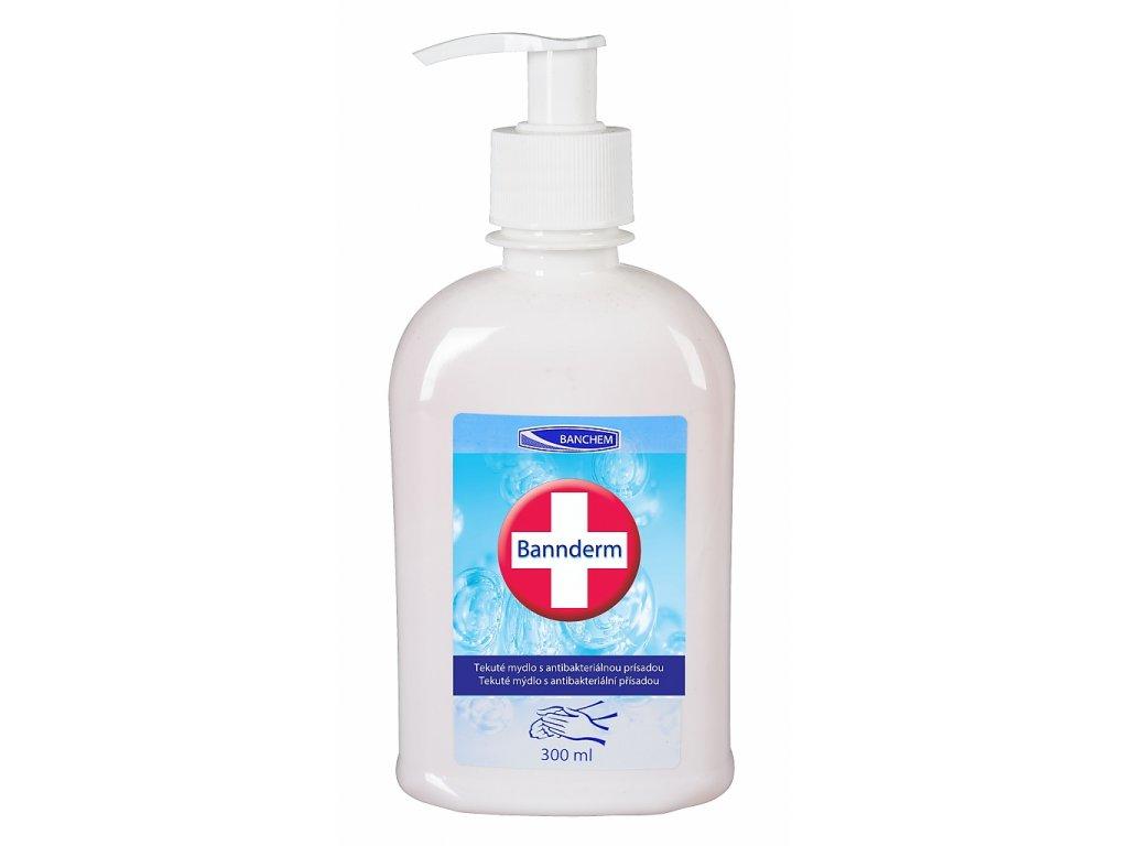 BANNderm 300ml tekuté mýdlo s antibakt. přísadou